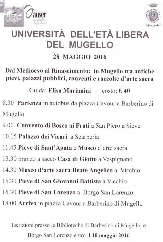 Visite Chiese Mugello Marianini